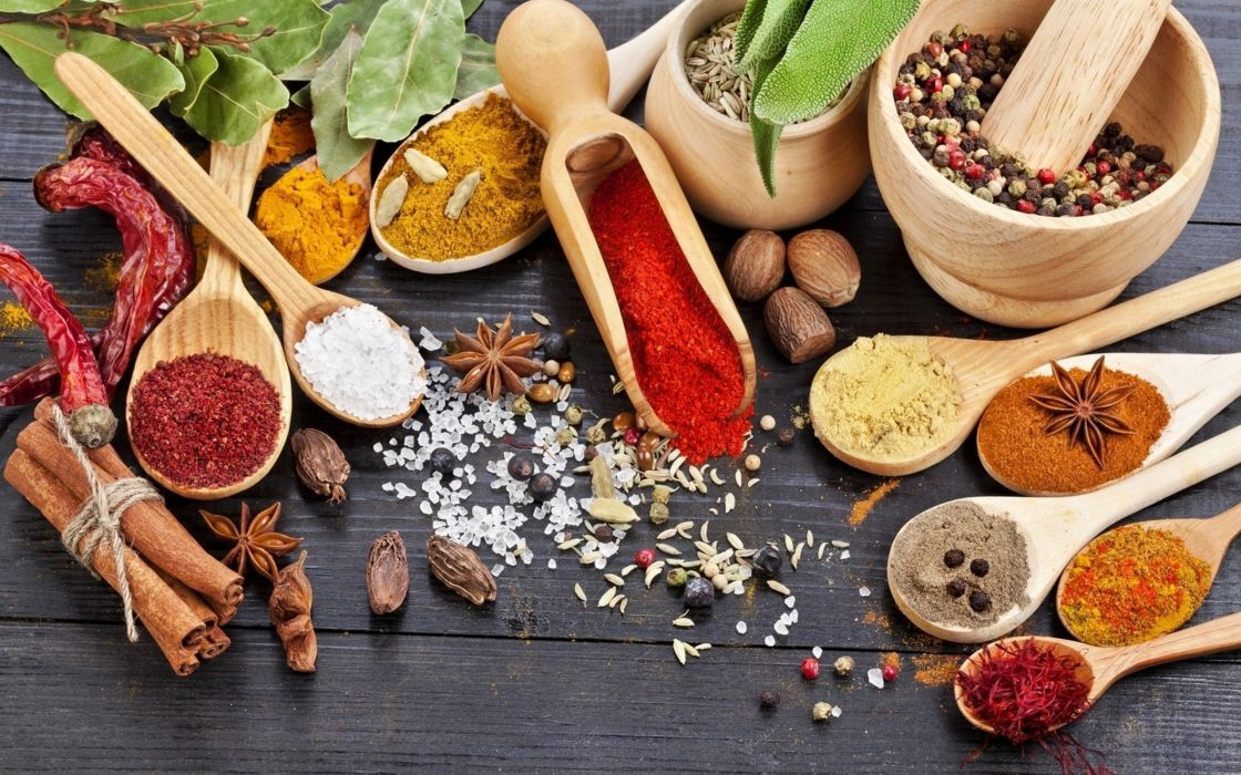 food spices wallpaper
