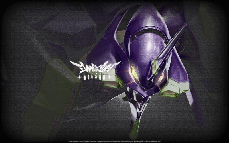 Neon Genesis Evangelion anime EVA Unit 01 wallpaper