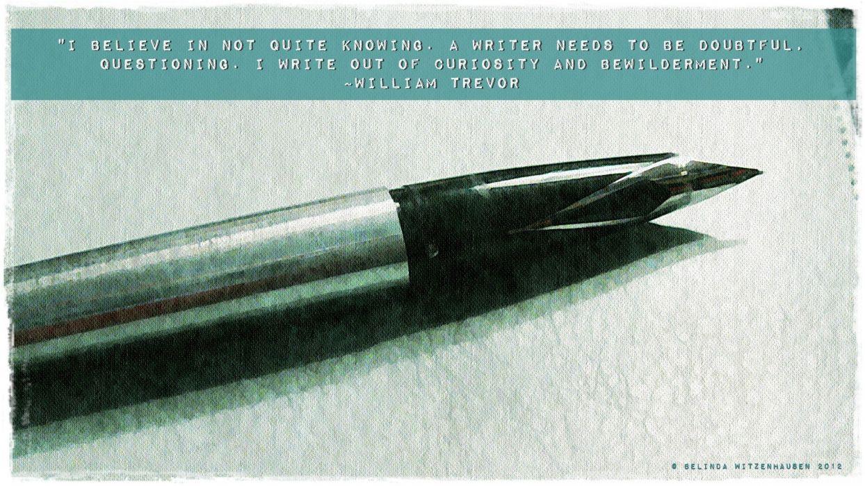 quotes writers phrase sentence sayings Trevor William Trevor wallpaper
