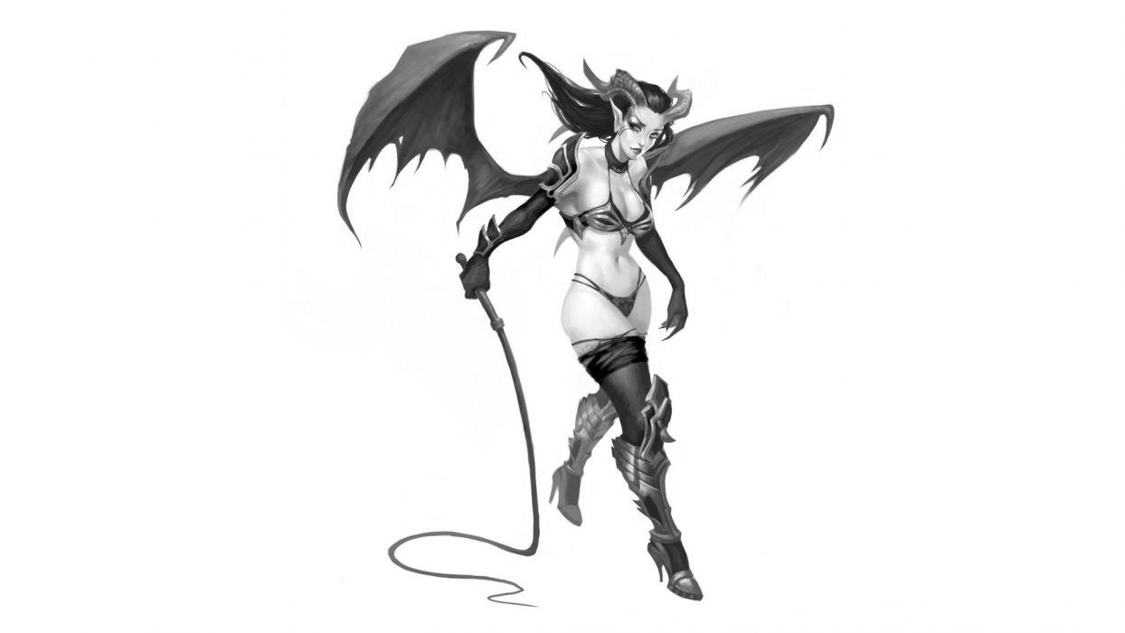 woman demon wallpaper
