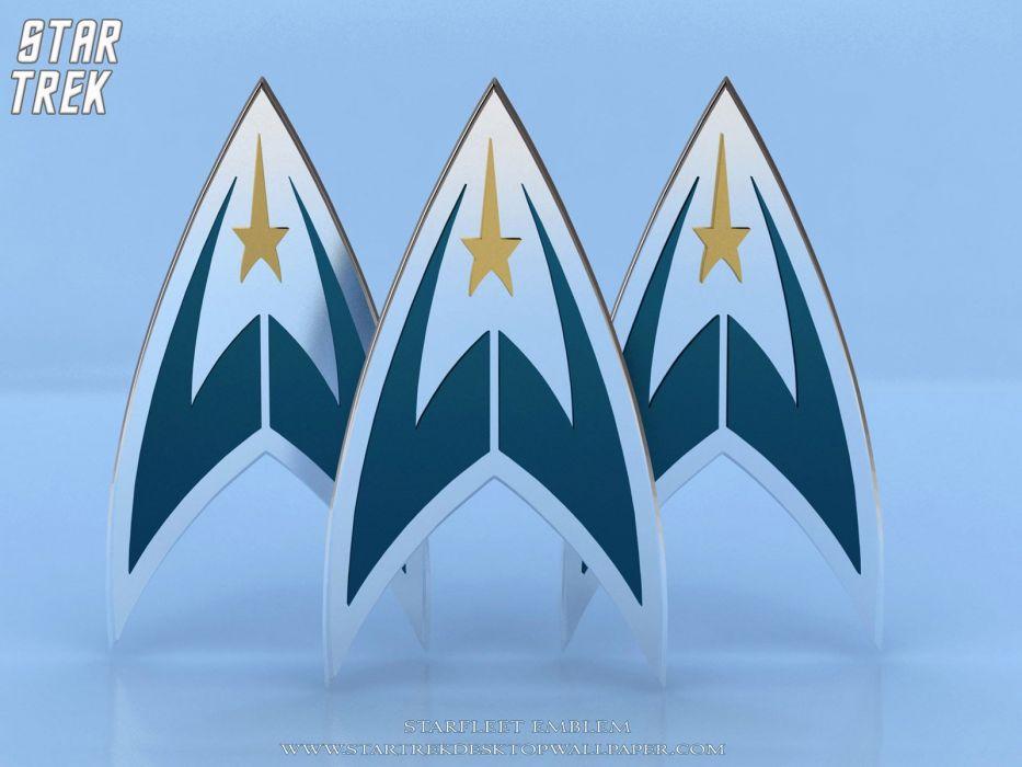 Star Trek Starfleet Emblem freecomputerdesktopwallpaper 1600 wallpaper