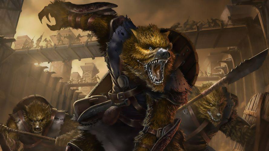 werewolf wallpaper