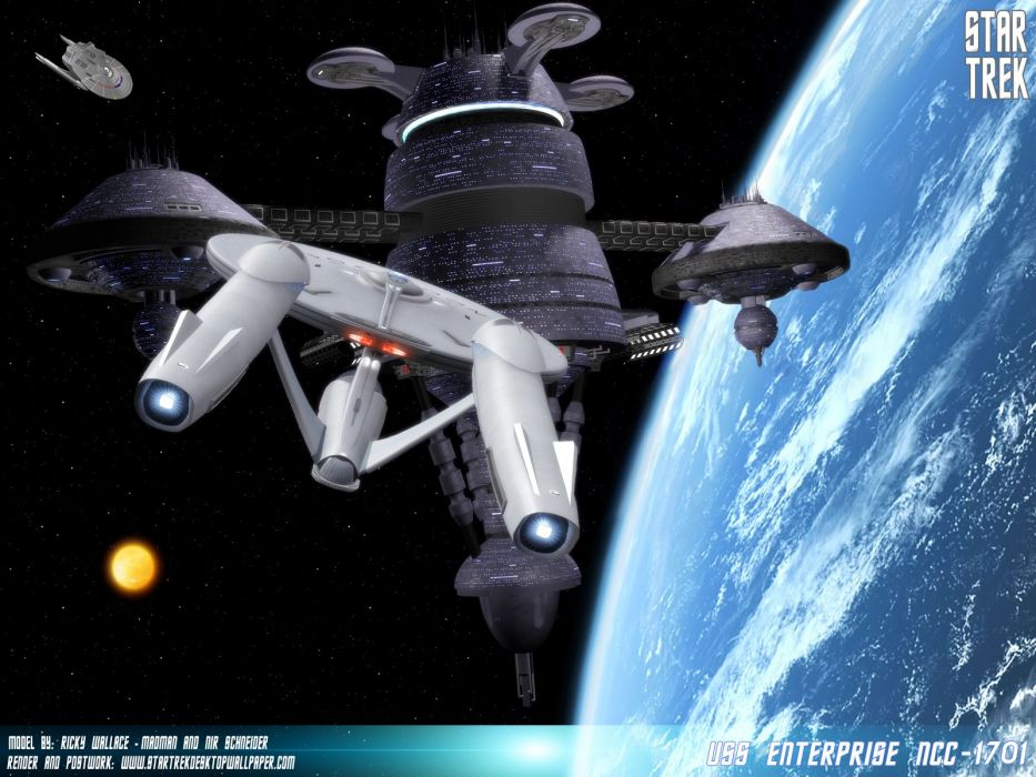 Star Trek USS Enterprise NCC1701 freecomputerdesktopwallpaper 1600 wallpaper