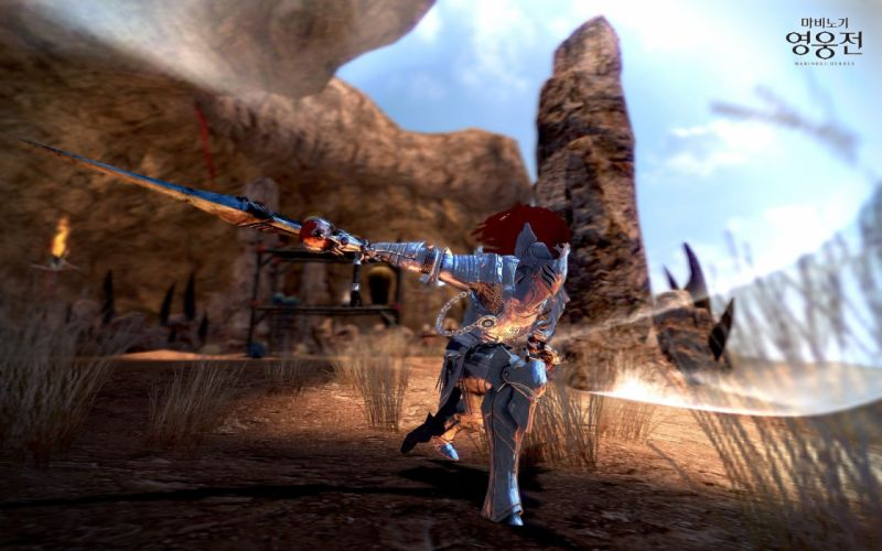 Vindictus Nexon Games swords Mabinogi Heroes Lann (Vindictus) wallpaper