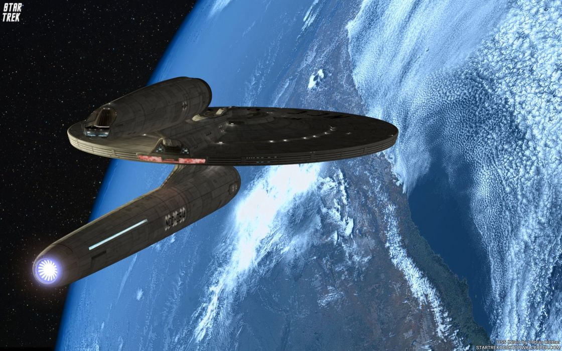 Star Trek USS Kelvin2012 freecomputerdesktopwallpaper 1680 wallpaper
