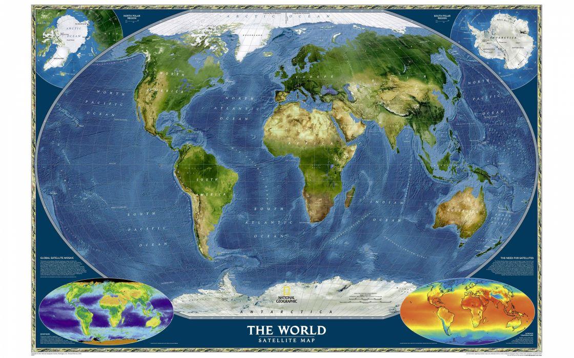 Earth maps wallpaper