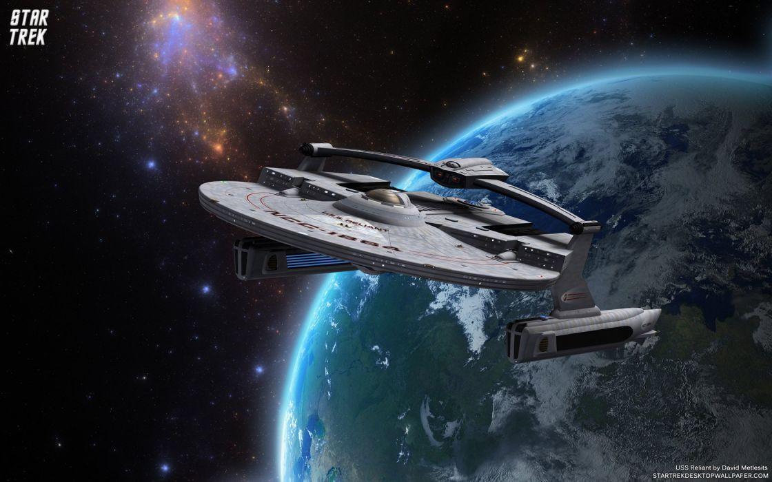 Star Trek USS Reliant Miranda Class Starship freecomputerdesktopwallpaper 1680 wallpaper
