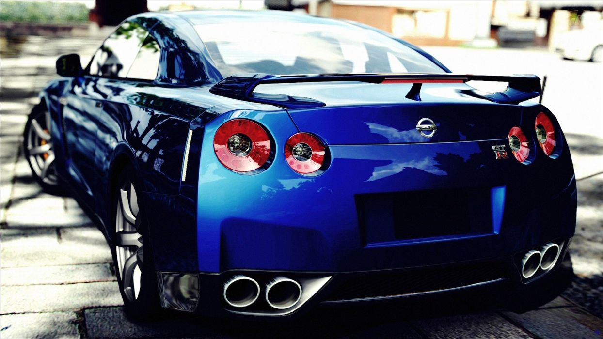 video games cars Nissan Gran Turismo 5 races Playstation 3 GTR Nissan GT-R wallpaper