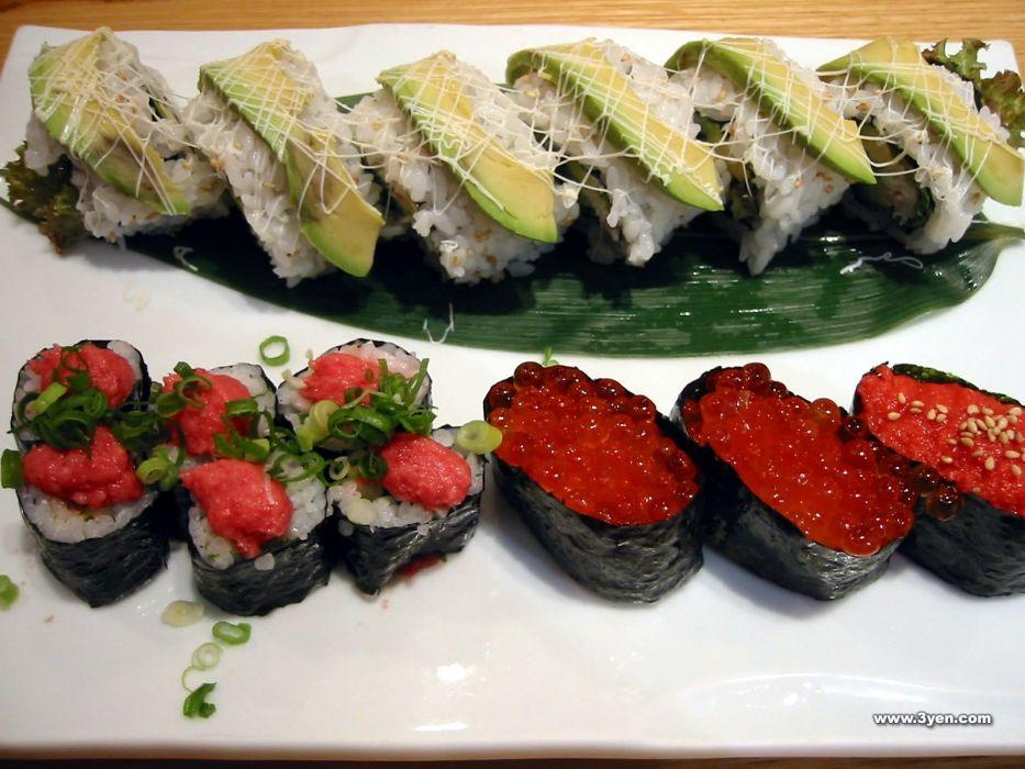 food sushi wallpaper