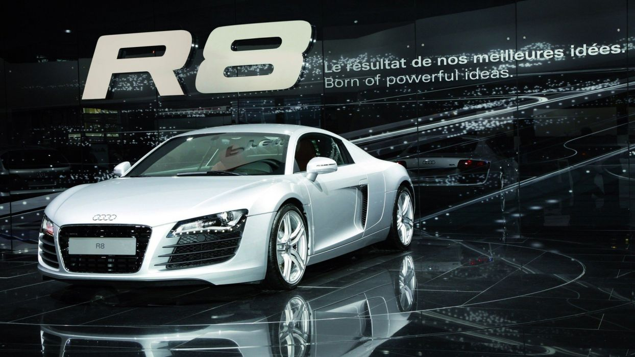 cars Audi R8 V8 wallpaper