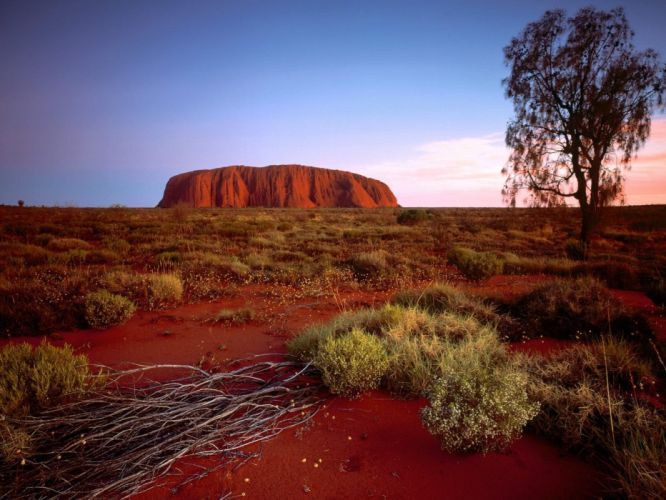 landscapes nature rocks Australia Ayers Rock wallpaper