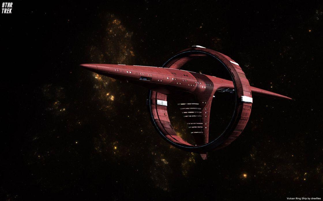 Star Trek VulcanRingShip freecomputerdesktopwallpaper 1680 wallpaper