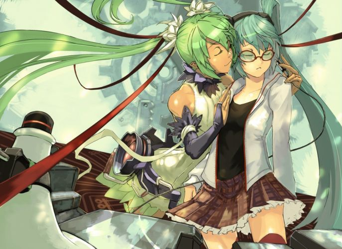 Vocaloid Hatsune Miku Miku Append Vocaloid Append wallpaper