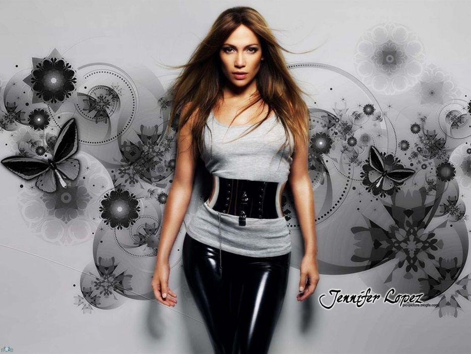 women Jennifer Lopez wallpaper