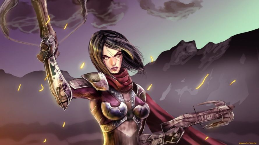 woman warrior wallpaper