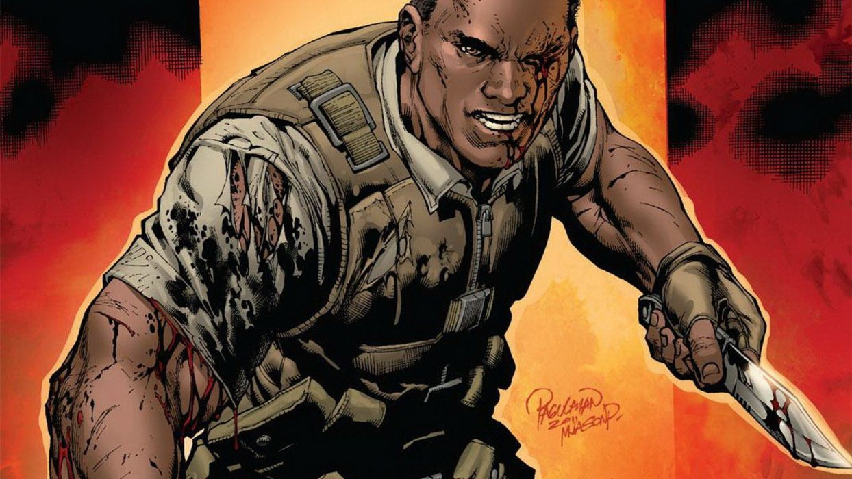 comics Marvel Comics Nick Fury Battle Scars wallpaper
