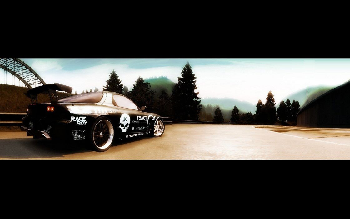 video games cars Need for Speed Need For Speed Undercover Mazda RX-7 games pc games wallpaper
