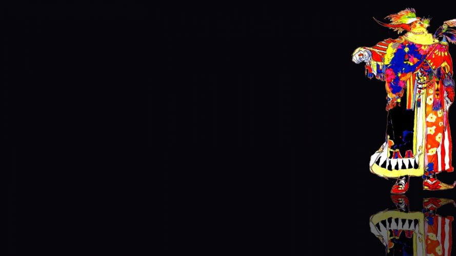 Final Fantasy black background Final Fantasy VI wallpaper