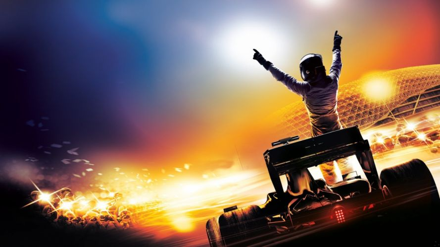 light Formula One wallpaper