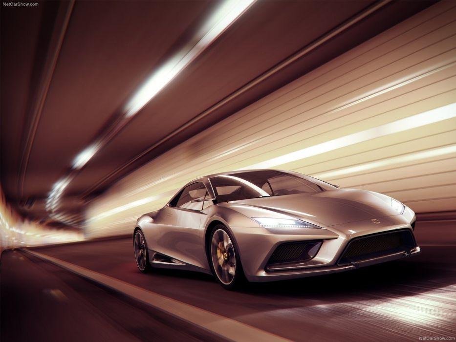 cars silver concept art Lotus Elan wallpaper