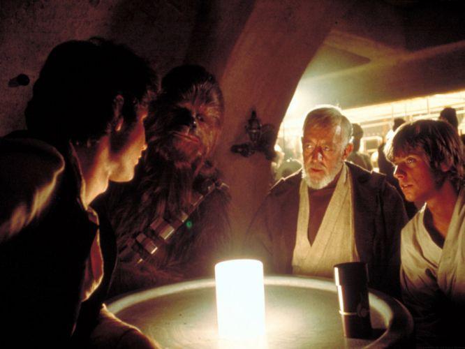 Star Wars movies Luke Skywalker Han Solo Chewbacca Harrison Ford Mark Hamill Obi-Wan Kenobi wallpaper