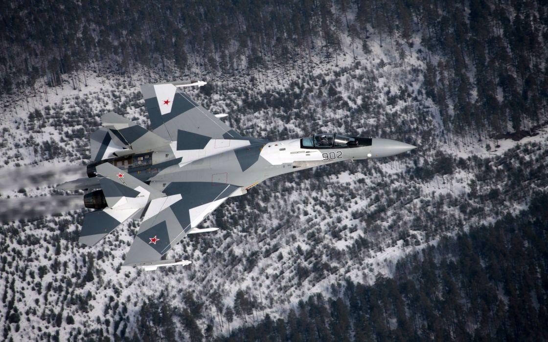 aircraft Su-27 Flanker wallpaper