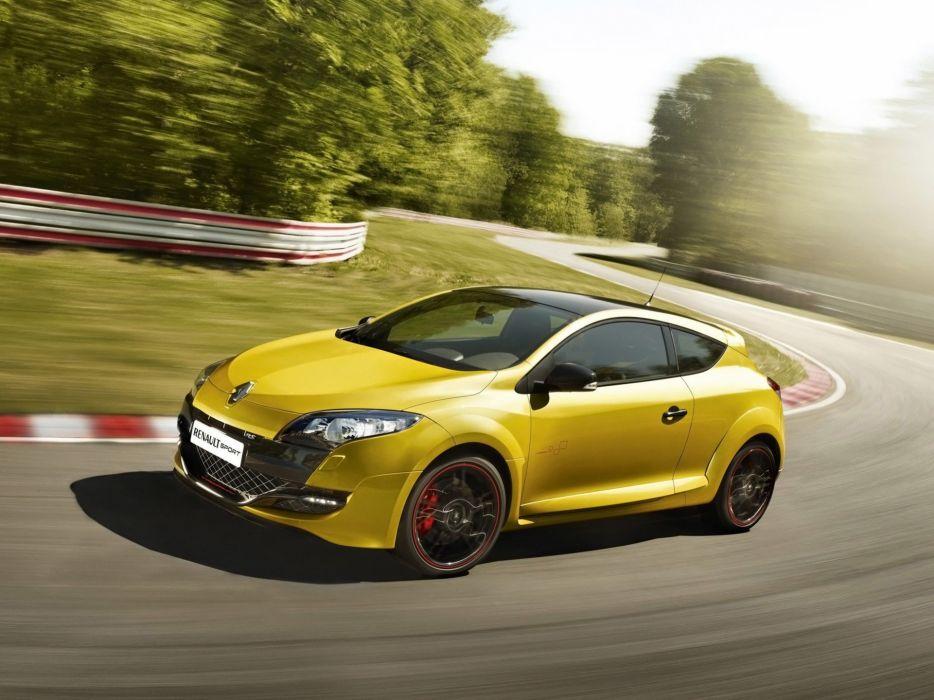 cars Renault race tracks wallpaper