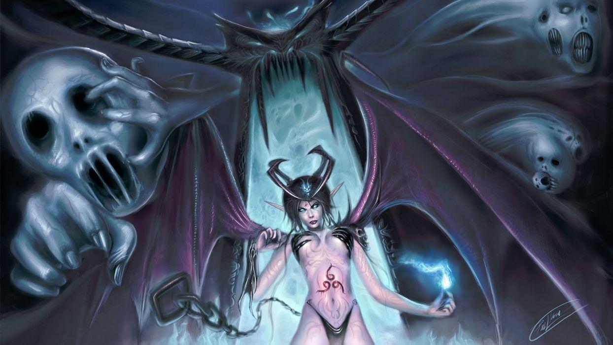 demon woman wallpaper
