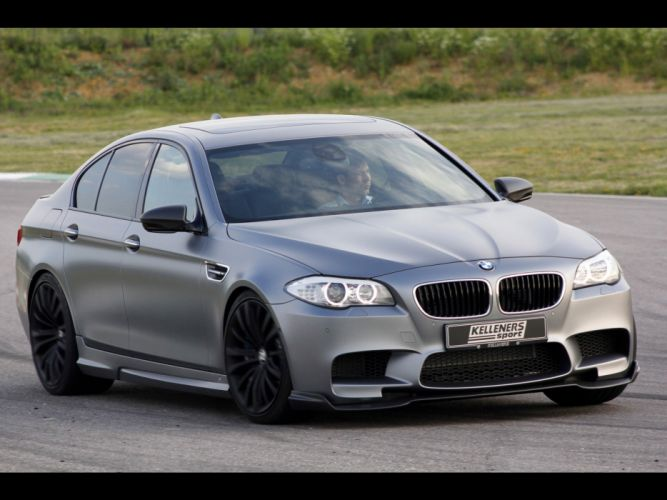 front tuning Motion BMW M5 BMW Series M silver cars Kelleners Sport wallpaper