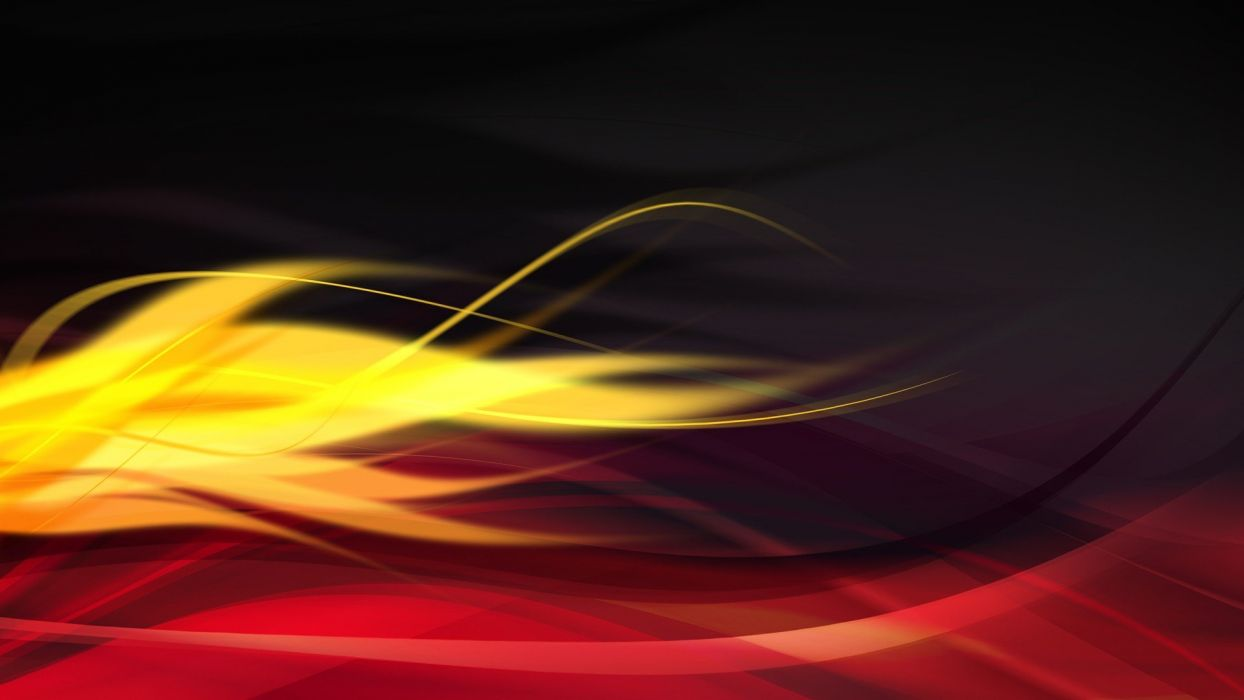 abstract black digital art red flame wallpaper