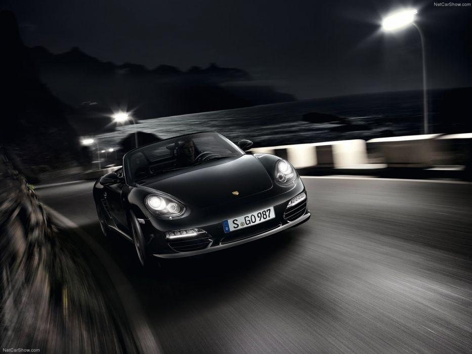 cars Black edition Porsche Boxster Porsche Boxster S wallpaper