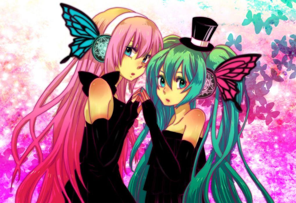 Vocaloid Hatsune Miku Megurine Luka Magnet (Vocaloid) wallpaper