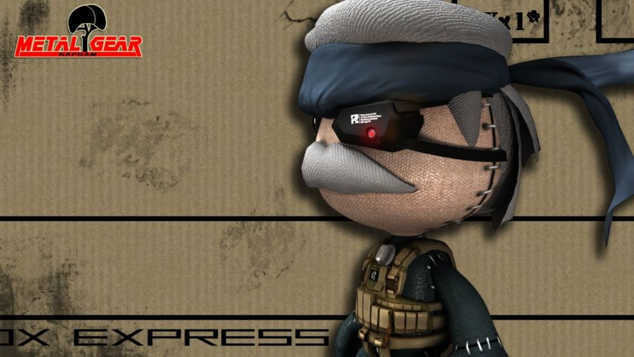 Little Big Planet Metal Gear Solid wallpaper