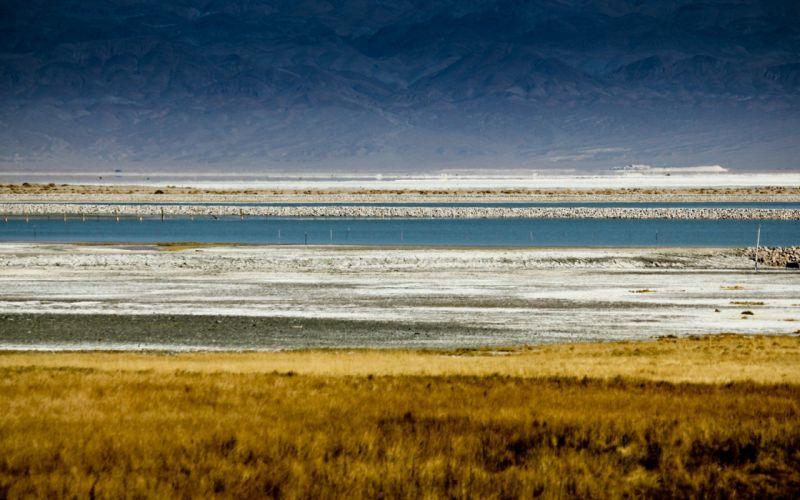 water mountains nature sea wallpaper