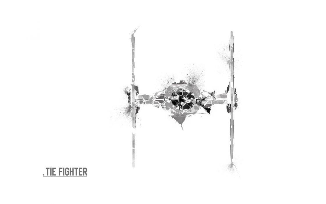 Star Wars artwork Tie Fighter wallpaper