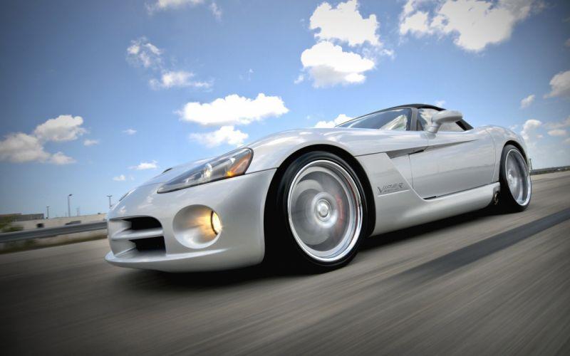cars Dodge Viper SRT-10 wallpaper