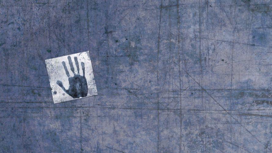 grunge hands artwork palm prints wallpaper