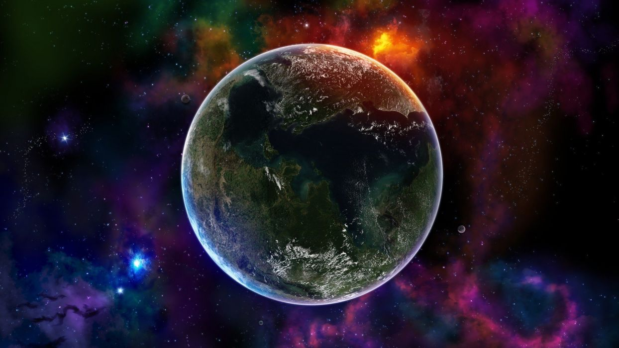 outer space planets artwork space wallpaper