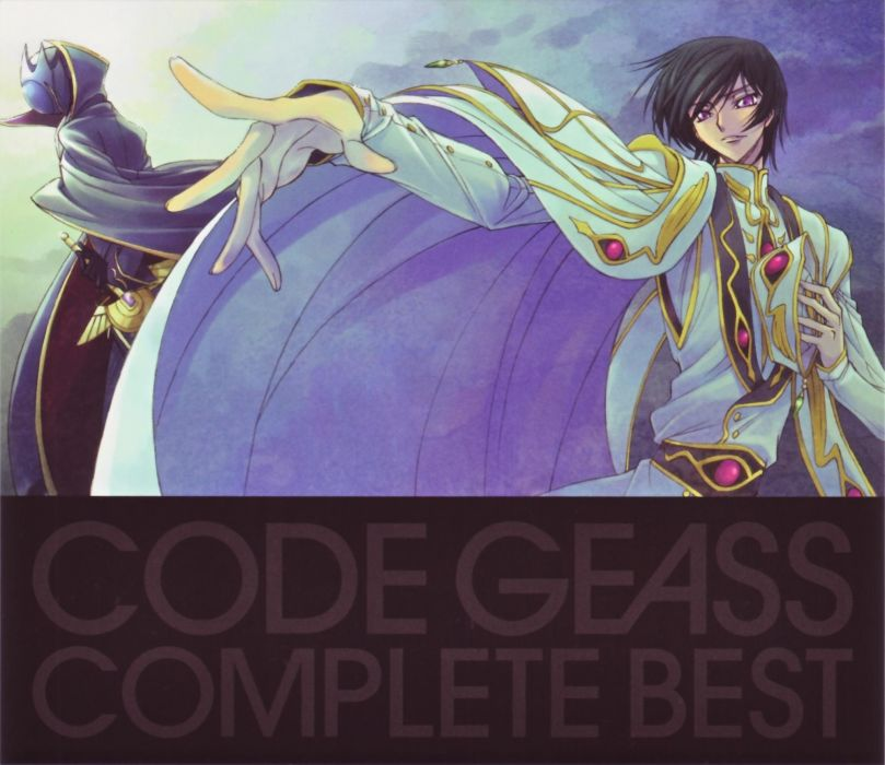 Code Geass text masks cloaks artwork Lamperouge Lelouch characters purple eyes reaching out wallpaper