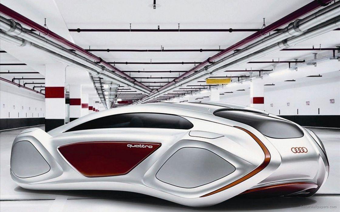 cars Audi project Intelligent wallpaper