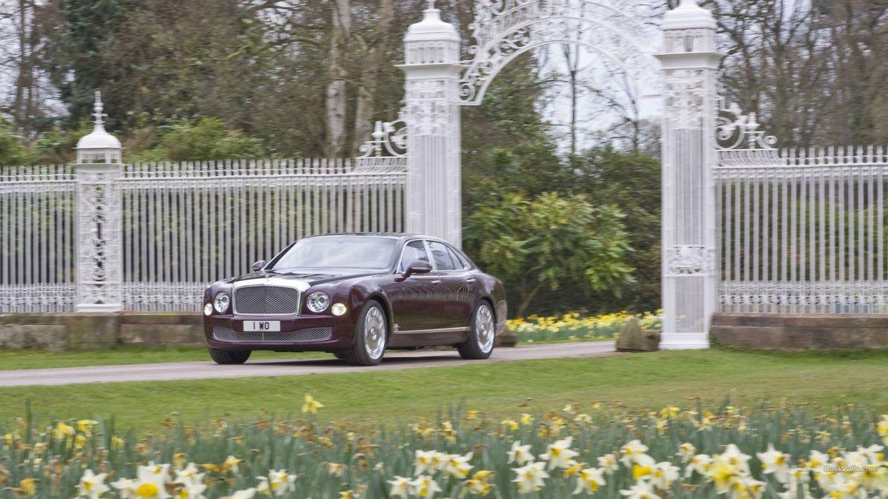 cars Bentley Jubilee Bentley Mulsanne diamond wallpaper