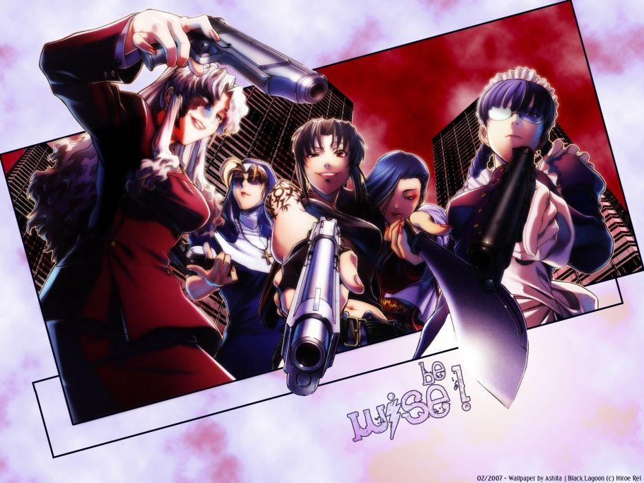 Black Lagoon anime wallpaper