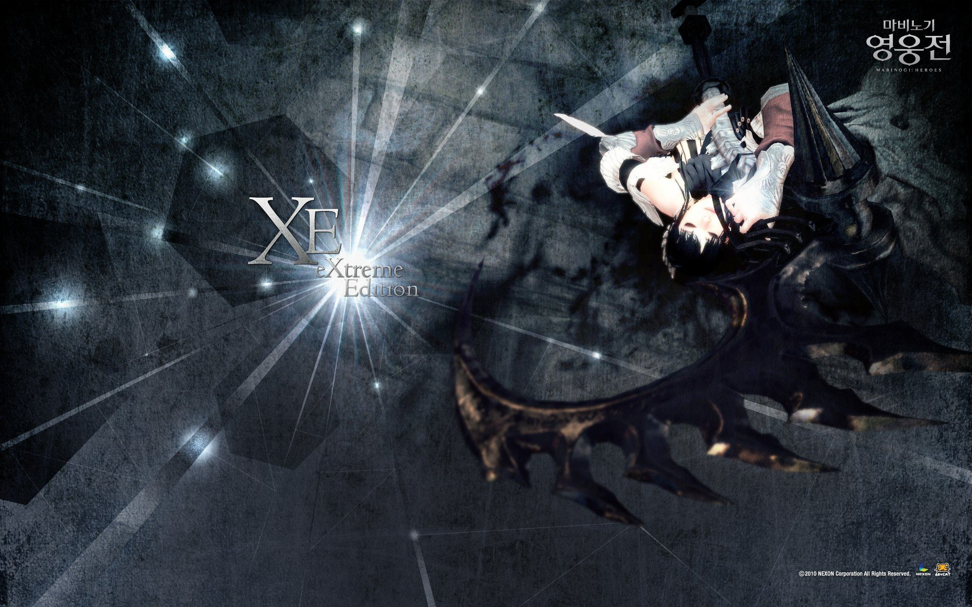 Scythe vindictus nexon games mabinogi heroes evie - Evie wallpaper ...