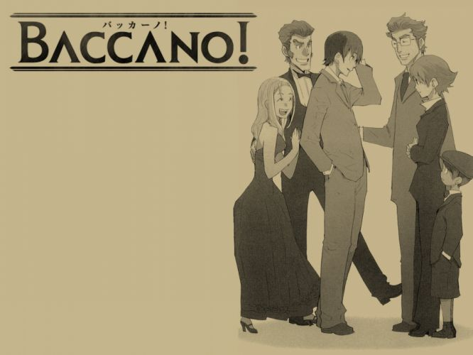 Baccano! anime wallpaper