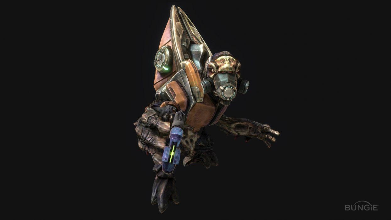 Halo Halo Reach science fiction Covenant Reach plasma pistol wallpaper