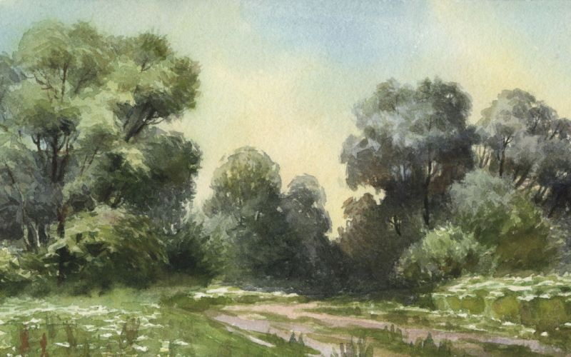 artwork watercolor wallpaper