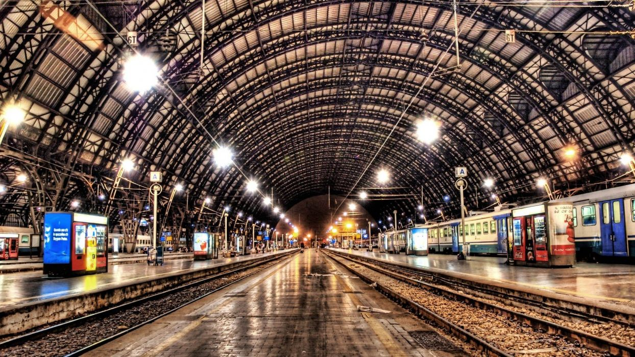 cityscapes architecture trains Europe train stations cities railway station wallpaper