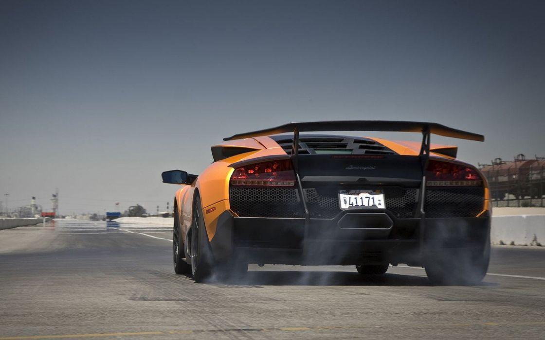 cars Lamborghini Italian vehicles supercars Lamborghini Murcielago orange cars italian cars wallpaper