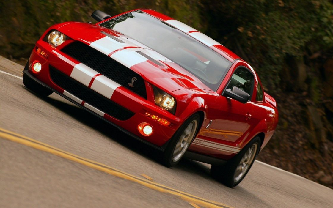 cars vehicles Ford Mustang Ford Shelby Ford Mustang Cobra Ford Mustang Shelby GT500 wallpaper