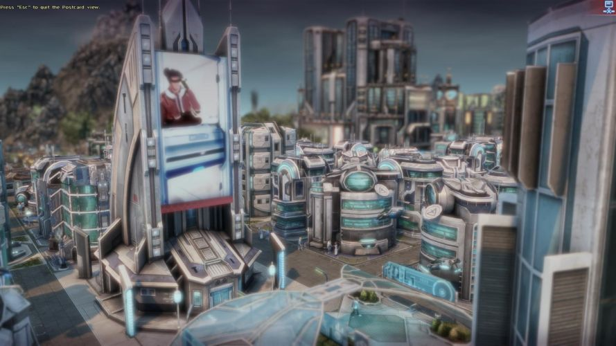 video games cityscapes screenshots Anno 2070 wallpaper